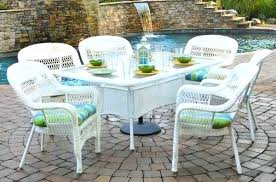 white outdoor wicker furniture 20 sets to choose from white outdoor dining furniture white plastic patio