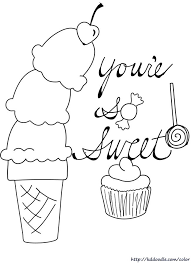 22d3a1d517fb582606efea9f43fc20ed ice cream coloring pages kids coloring pages 147 best images about happy birthsday coloring on pinterest on printable belated birthday cards
