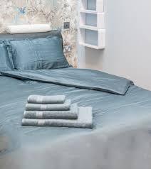 green bear luxurious super soft bamboo bed linen duvet cover zipped 100