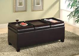 living contemporary storage ottoman with tray armen furniture reviews