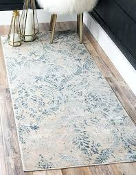 blue restoration runner rug area rugs faded picturesque 10 ft foot long runners