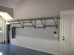 wall mounted garage shelving shelves
