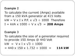 150 Kw Generator Amps Ikaconsultores Com Co