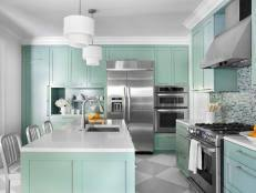 kitchen cabinet paintPainting Kitchen Cabinet Ideas Pictures  Tips From HGTV  HGTV