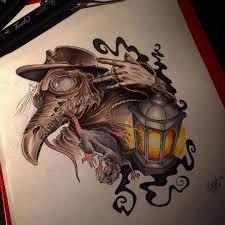 Lantern And Rat Sketch By Tattoo 3000 Tattoo Lantern