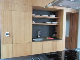 Apartment Kitchen Storage Highly Regarded Open Shelves Storage Bamboo Kitchen Cabinets With