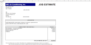 Job Quote Template Excel Every Free Estimate Template You Need The 14 Best Templates