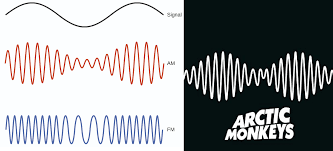 not only does the AM in their logo mean arctic monkeys the design resembles  an Amplitude Modulation (AM) waveform | Logos meaning, Arctic, Arctic  monkeys