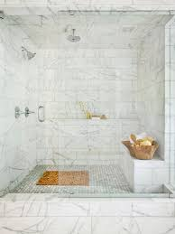 marble tile shower. Interior Marble Tile Shower