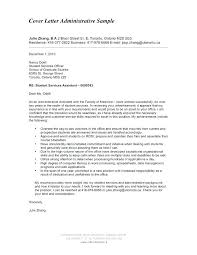 School Administrator Cover Letter Sample Recent Posts Templates For