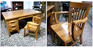 vintage office desk. Vintage Office Desk Refinished Chair Furniture For Sale . E