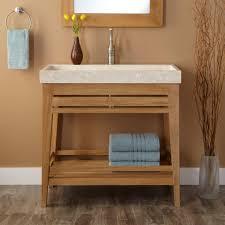 open bathroom vanity cabinet: bathroom charming open shelf bathroom vanity ideas modern