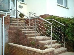 outdoor metal stair railing. Metal Stair Railing Kits Handrail For Steps Outdoor In Handrails Designs 9