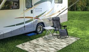 reversible patio mat outdoor rugs awesome trailer beach camping rv mats full size of interior camper patio mat