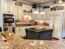 tuscan kitchen updated with sherwin williams creamy