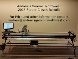 Used (Pre-Loved) Quilting Machines | Andrew's Gammill Northwest & Andrews Gammill Statler Stitcher Retrofit Washington Oregon Idaho Montana  Computerized Longarm Quilter Adamdwight.com
