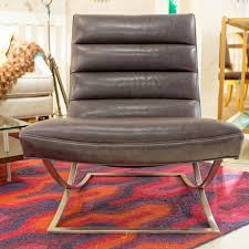 armless leather chairs. Felix Armless Leather Chair - Precedent Chairs L