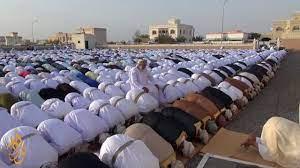 صلاة عيد الفطر السعيد 1438 بولاية أدم - YouTube