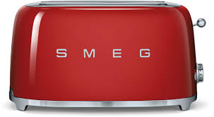 Retro Toasters smeg tsf02rdus countertop toaster with 4 slice capacity defrost 1995 by xevi.us