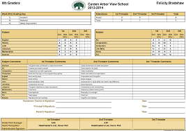 Report Card Template School Management System Report Card Templates For K24 Schools 21