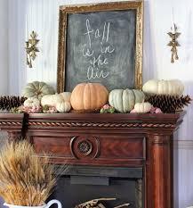 chalkboard fireplace mantel decor