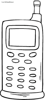 Printable Cell Phones Coloring Pages Themes Coloring Pages Free