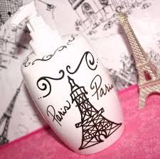 Paris Bathroom Decor Paris Decor Themed Bathroom Accessories Eiffel Tower Soap