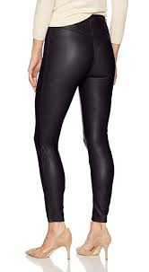 details about lysse women s size l black vegan faux leather leggings high waist 108 chic cute