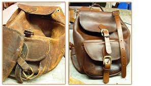re leather back pack