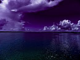 Purple Ocean Wallpaper And Background Image 1280x960 Id