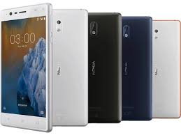 nokia smartphone android price. nokia 3 smartphone with 5.00-inch 720x1280 display powered by 1.3ghz quad-core processor alongside 2gb of ram and 8-megapixel rear camera. android price i