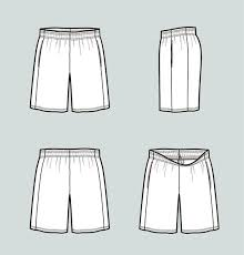 Shorts Design Template Basketball Jersey Drawing At Paintingvalley Com Explore