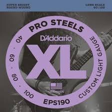 <b>D`Addario EPS190</b> купить по выгодной цене, <b>струны</b> для бас ...
