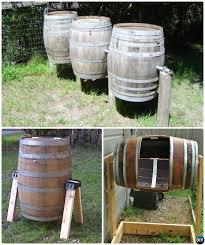 diy wine barrel compost bin instruction 12 simple diy compost bin projects