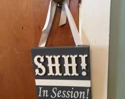 Session In Progress Door Hanger Session In Progress Door Hanger Do