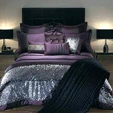 dark purple bedding sets duvet cover covers solid royal comforter velvet