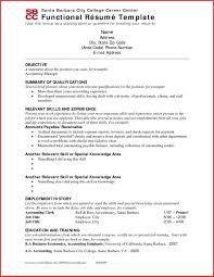 Chrono Functional Resume Incredible Inspiration Combination Sample