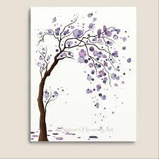 love bird purple watercolor tree art 11 x 14 print abstract nature inspired wall art modern home d cor 119  on nature inspired wall art with love bird purple watercolor tree art 11 x 14 print abstract nature
