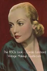 1930s makeup look carole lombard6