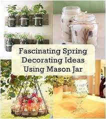 Decorations Using Mason Jars Fascinating Spring Decorating Ideas Using Mason Jar Matchness 42