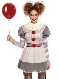 Womens Scary Clown Costume