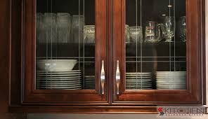 Amazing Black Kitchen Cabinets With Glass Inserts Photo   3