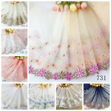 Lot Wedding Dress <b>Embroidered</b> Sewing Trims for sale | eBay