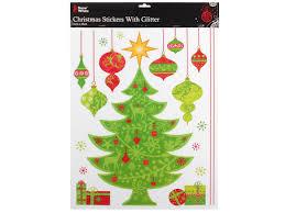 Fenstersticker Weihnachten Merry Christmas Fensterdeko Weihnachtsbaum Fenstertattoo Fensterbilder Haftende Fenster Aufkleber Alsino