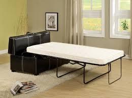 hidden beds in furniture. Appoline Ottoman Sleeper In Black Hidden Beds Furniture