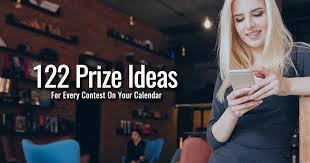 122 Prize Ideas For Every Contest On Your Calendar Second Street Lab