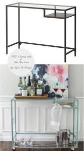 10 Totally Ingenius, Ridiculously Stylish IKEA Hacks -- love the bar cart!