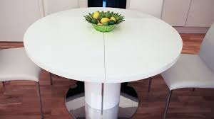 round white dining table and chairs uk delivery popular of round white gloss dining table