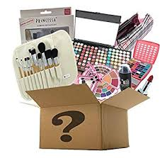 br makeup surprise mystery box gift set exclusive all in one makeup set include