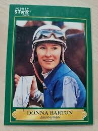 Donna Barton, Autographed 1991 Jockey Star Card #38 (VG) Only 1 on Ebay!! |  eBay